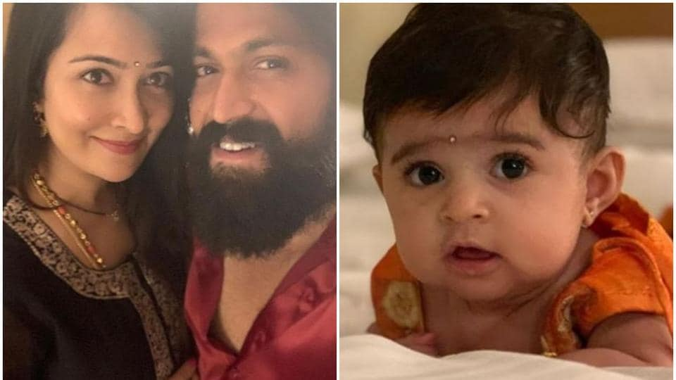 KGF star Yash shares first picture of daughter  See it here