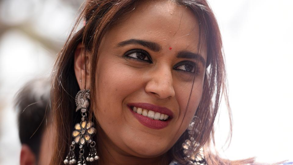 """""""First tell me who you will vote for,"""" actor Swara Bhasker laughingly asked a young man seeking a selfie with her in Lajpat Nagar's Central Market. """"Only the Aam Aadmi Party,"""" pat came the reply."""