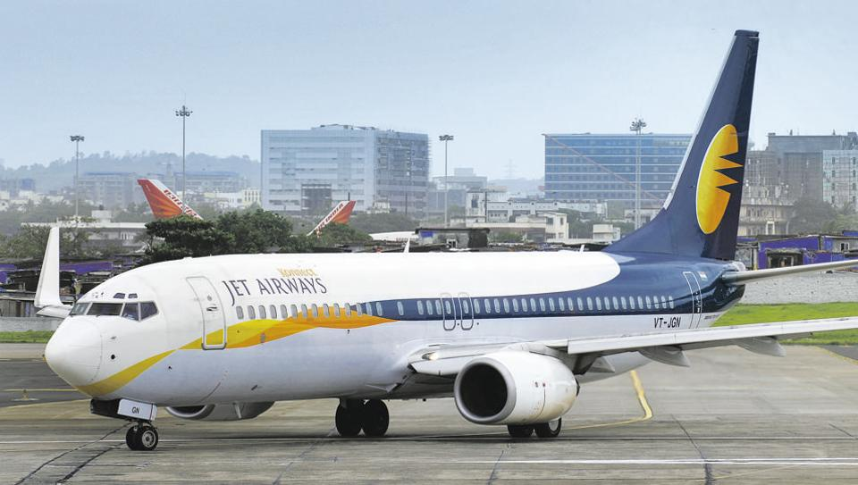 void left by Jet Airways,flier footfall,Jet Airways
