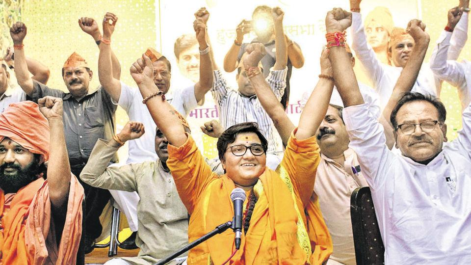 The Pragya Thakur vs Digvijaya Singh battle will be seen as one between a victim of a politically motivated investigation and a person who coined the term Hindu terror