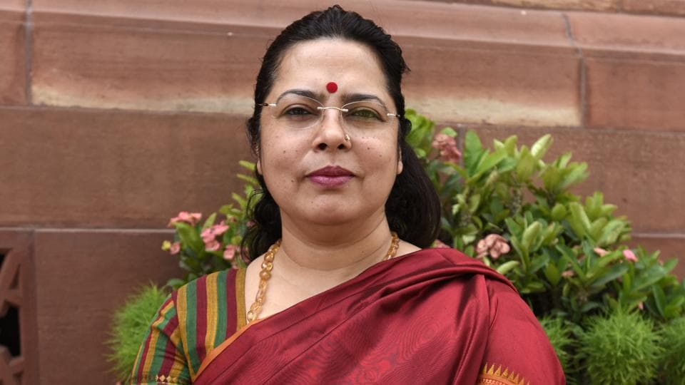 Meenakshi Lekhi, the Bharatiya Janata Party's (BJP) candidate from the New Delhi Lok Sabha constituency, is contesting elections for the second time.
