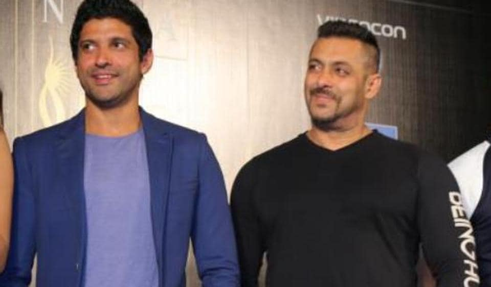 Salman Khan and Farhan Akhtar recently met and discussed films, is there a project together on the cards?
