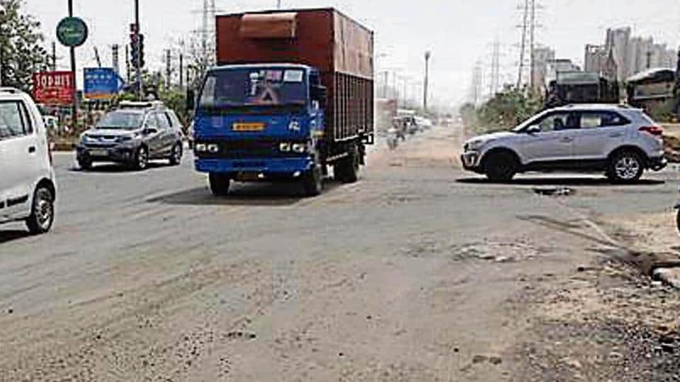 The Gurugram Metropolitan Development Authority (GMDA) has started re-carpeting the Golf Course Extension Road (GCER), less than six months after it had carried out a similar repair work on the six-kilometre stretch.