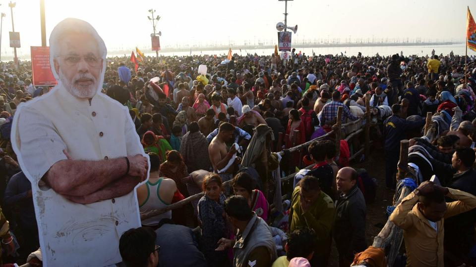 Organised for the national and international audience with an unprecedented global branding, Rs 4200-crore Kumbh extravaganza was actually the beginning of the Bharatiya Janata Party's (BJP) poll campaign.