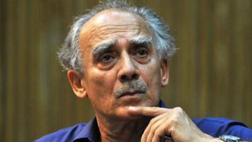 Arun Shourie alleged that the members of the inquiry panel were acting as the members of a club