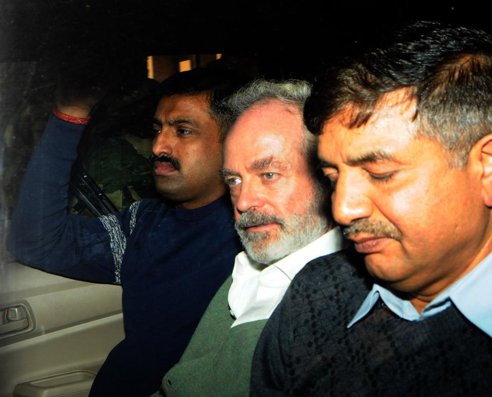 On Thursday, a Delhi court issued fresh summons against David Nigel John Syms, an alleged middleman and business partner of British national Christian Michel, in the AgustaWestland VVIP chopper case. Special judge Arvind Kumar summoned Syms, named as an accused in the supplementary charge sheet, to appear before the court. (HT File)
