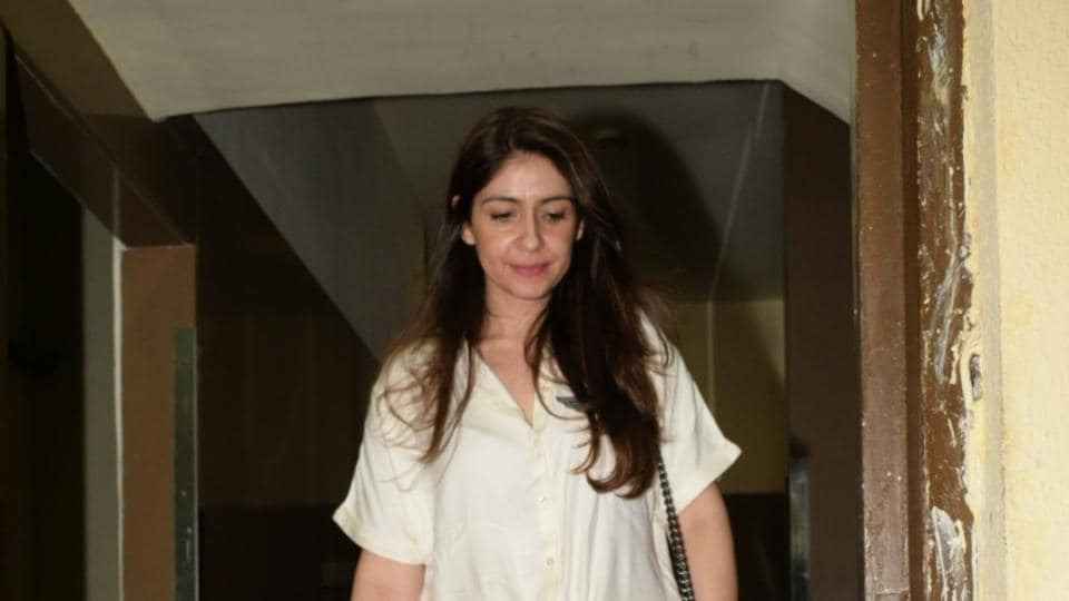 Ananya Panday at the screening of Student of the Year 2 in Mumbai.