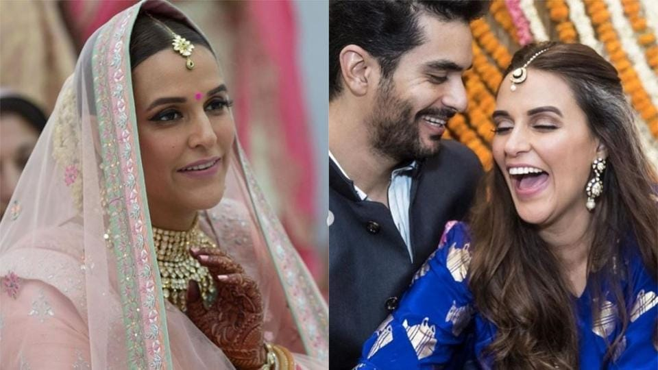 Angad Bedi and Neha Dhupia celebrated their first wedding anniversary on Friday.