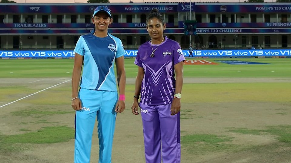 File image of Harmanpreet Kaur and Mithali Raj.
