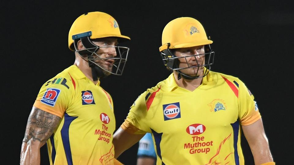 Faf du Plessis and Shane Watson starred in Chennai Super Kings' win over Delhi Capitals in Visakhapatnam on Friday.