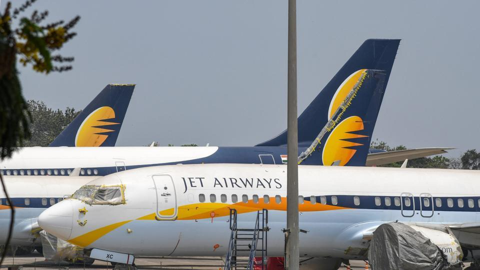 On Friday, the State Bank of India (SBI) said that it has received two unsolicited bids for ailing Jet Airways, nearly a month after the airline was forced to ground all operations due to funding troubles. Jet, once India's largest private airline, stopped all flights on April 17 after its lenders, led by SBI, declined to extend more funds to keep the carrier going. (Shirish Shete / PTI File)