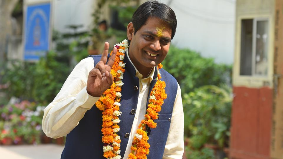 Brijesh Goyal, the Aam Aadmi Party's (AAP) candidate from the New Delhi Lok Sabha constituency, is contesting elections for the first time.