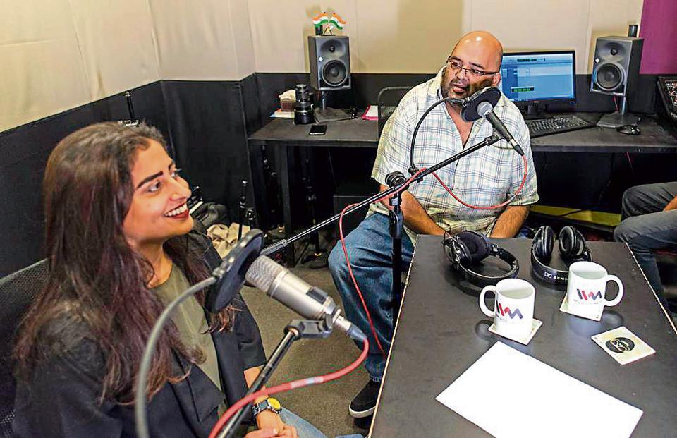 The audio OTTboom has been good news for independent podcast companies like Kavita Rajwade and Amit Doshi's Indus Vox Media, or IVM. They've recorded 73 podcasts since 2015, most of which are now available on major music-streaming platforms.