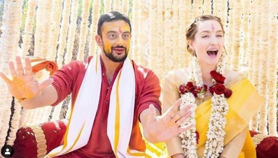 Arunoday Singh and wife Lee Elton have split.