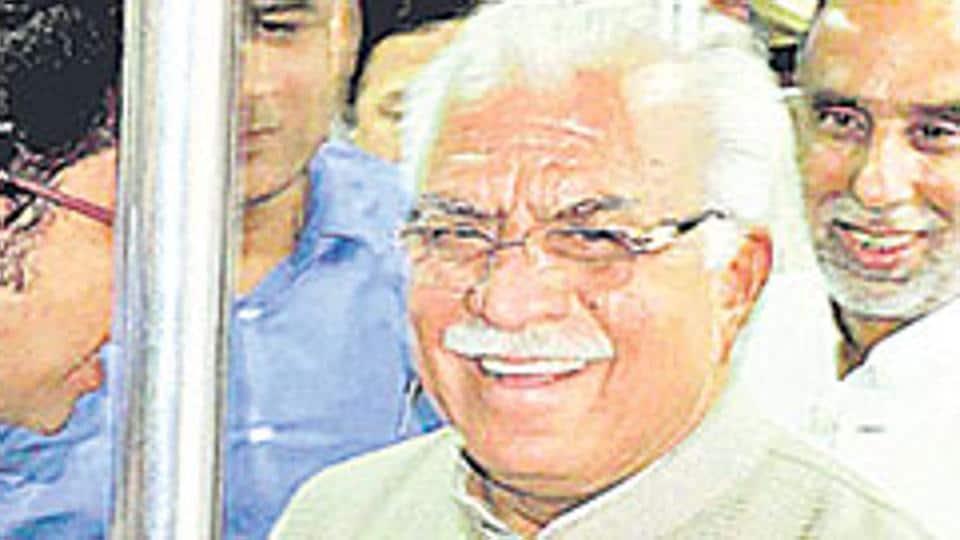 Punjab and Haryana high court,Haryana CM Manohar Lal Khattar,Night halt