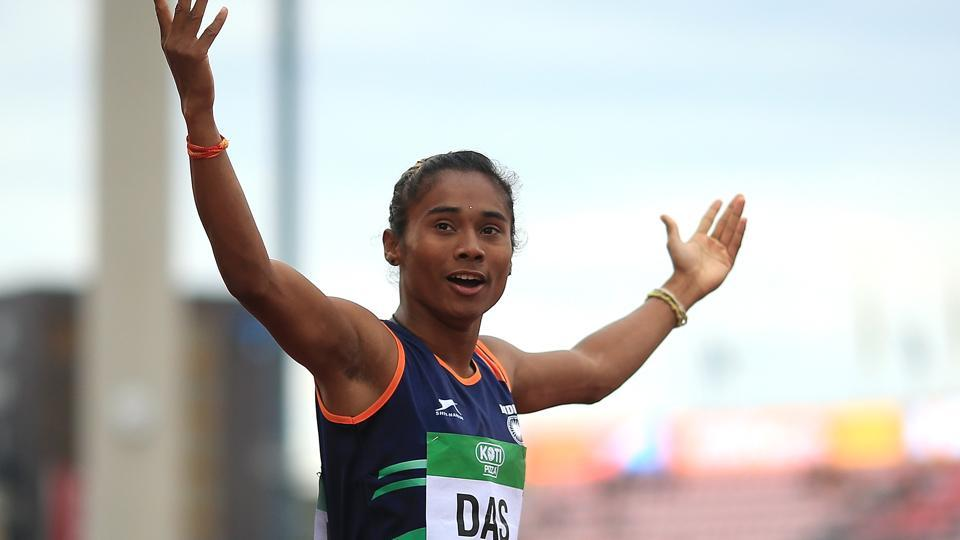 Hima Das not yet fully fit as India's relay hopes take a hit