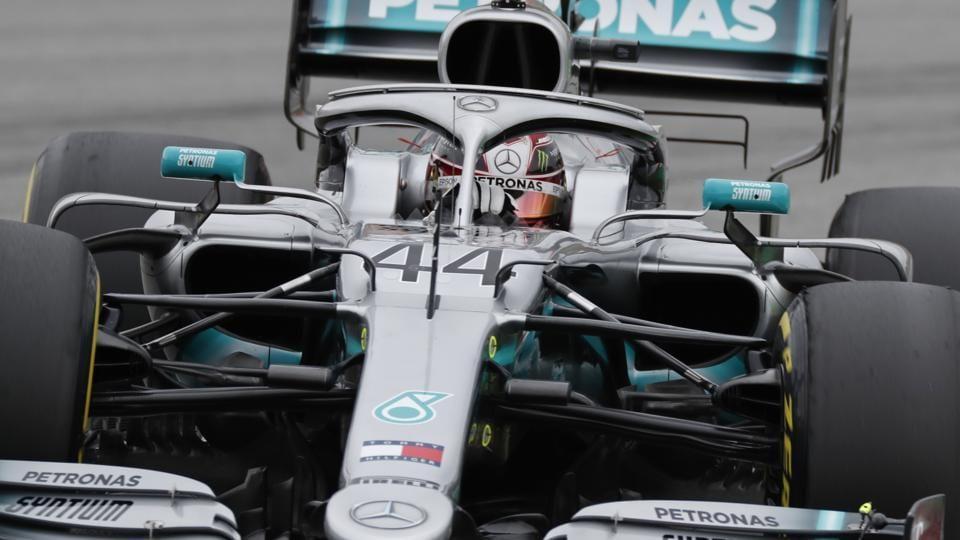 Spanish Grand Prix:Lewis Hamilton back on top in Barcelona