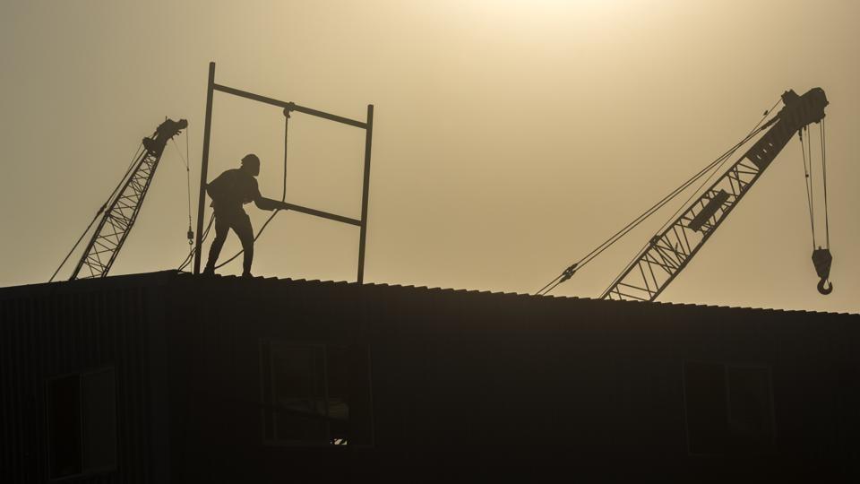 CoastalRoad work site,pollution,Mumbai
