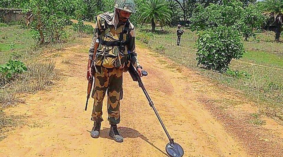 173 companies of paramilitary forces have been deployed across the four Lok Sabha constituencies, which will go to polls today.