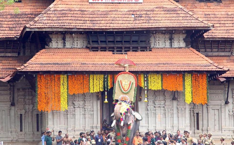 Thrissur Pooram,Vadakumnathan Temple,Thechikottukavu Ramachandran