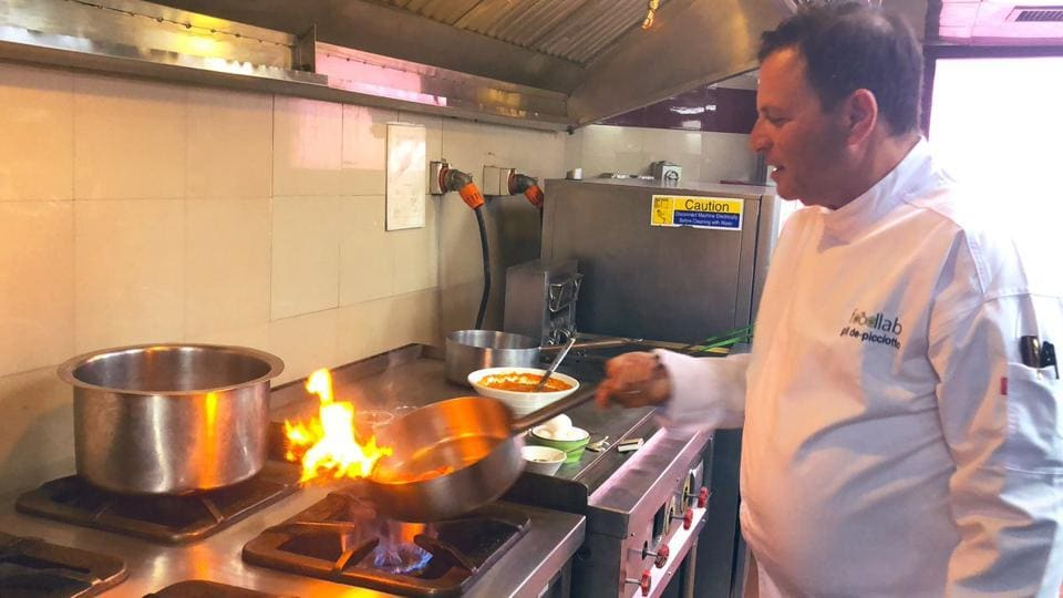 Delhi food has been recommended strongly: Israeli chef Chef Gil de Picciotto