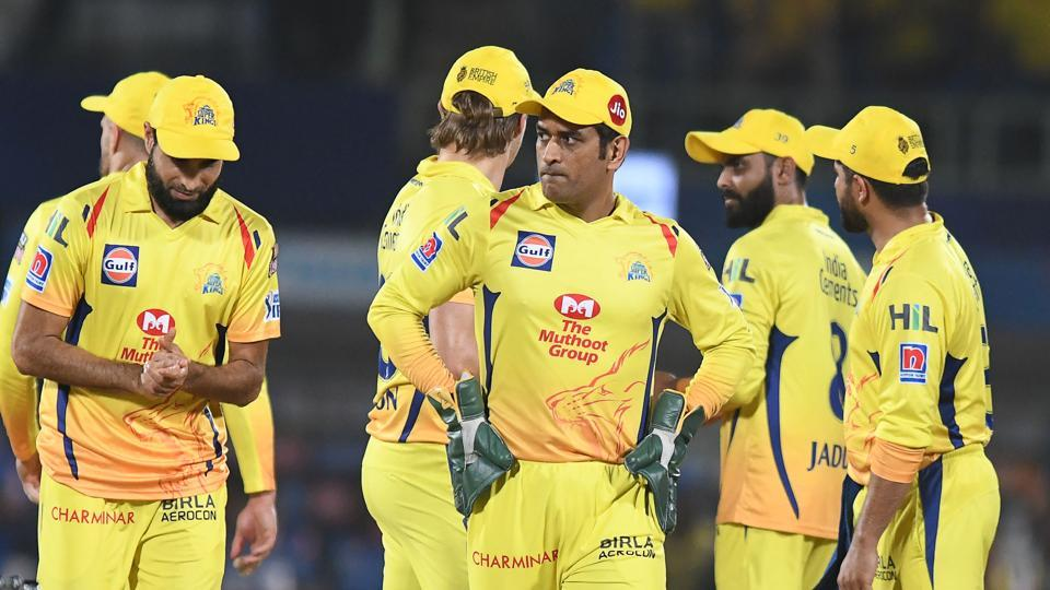 File image of CSK team