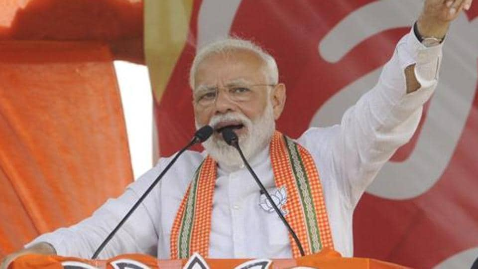Prime Minister Narendra Modi attacked the Opposition on questions of national security and fighting terrorism on Sunday, saying India's defence forces couldn't wait for permission from the Election Commission to take action against terrorists.