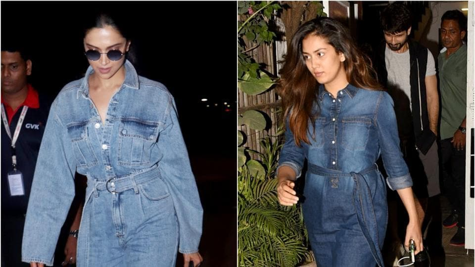 One celeb fashion choice from the '90s that keeps popping up every now and then is the denim on denim look.