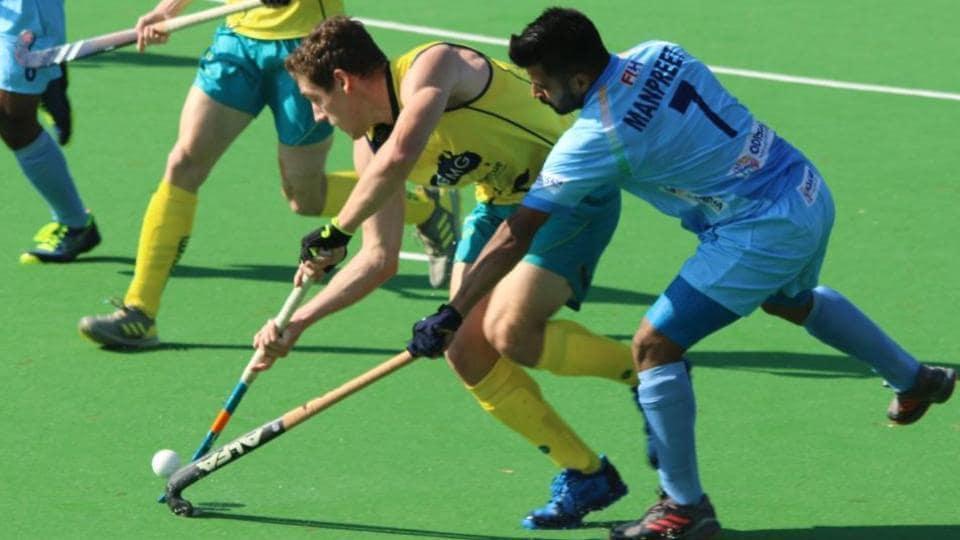 Harmanpreet Singh,India vs Australia Hockey,India men's hockey team