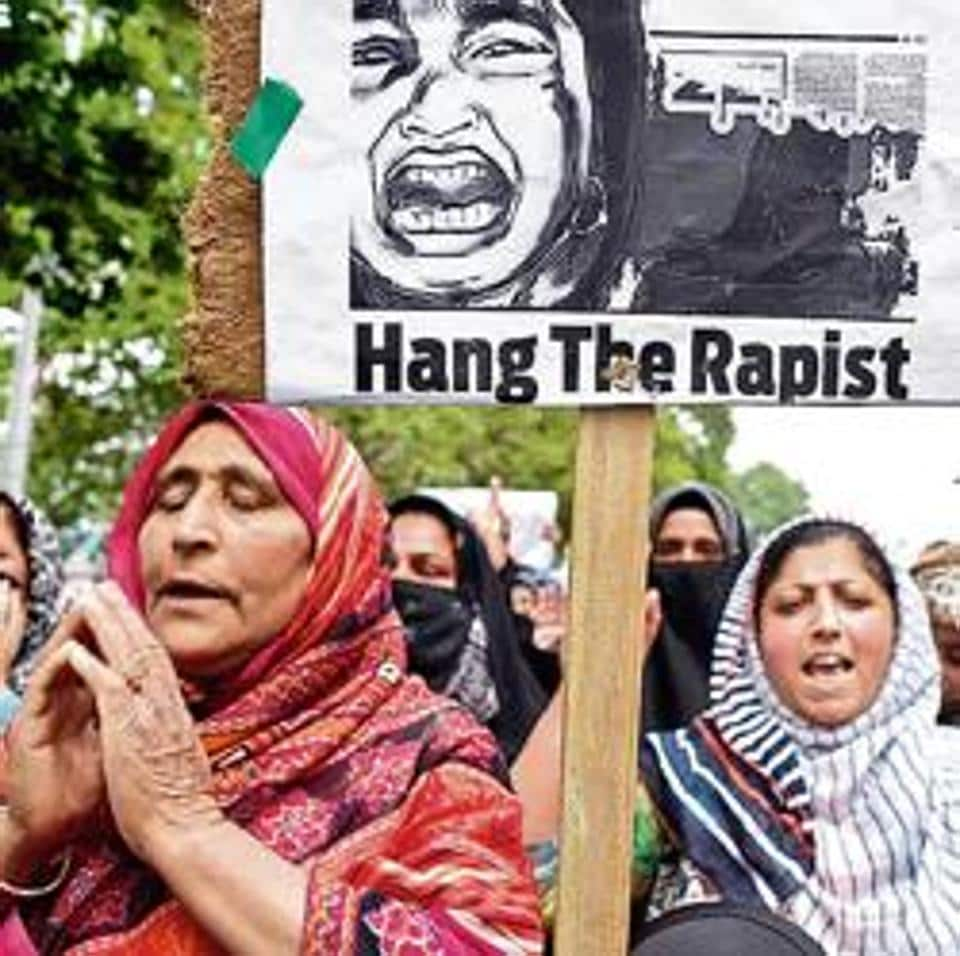 The Jammu and Kashmir government on Monday said the inquiry into the alleged rape of a three-year-old girl in north Kashmir's Sumbal is being conducted on a fast track basis.