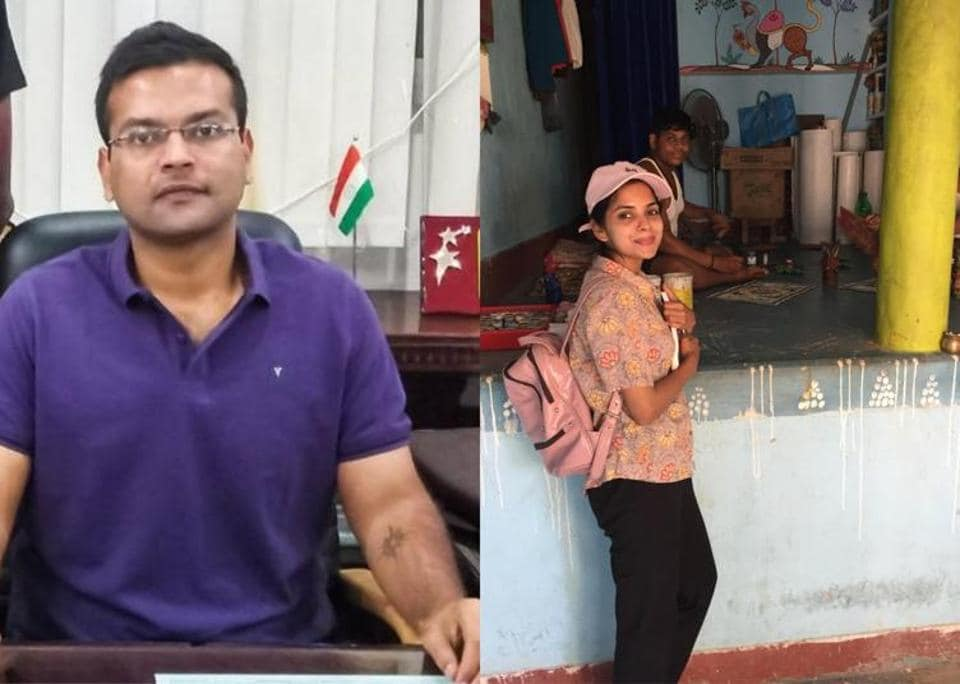 Samarth Verma (IAS officer)  and Taruka Srivastava (freelancer writer).