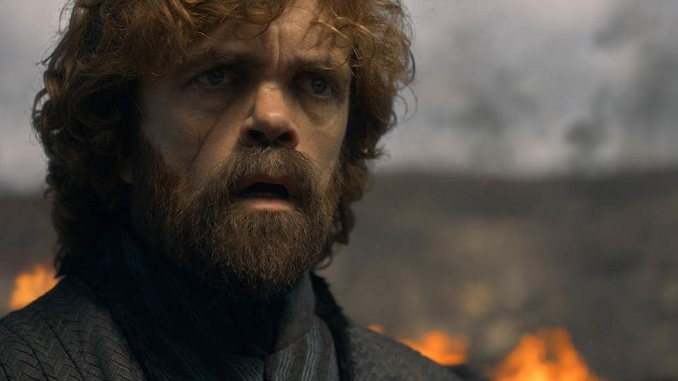 Tyrion Lannister in a still from Game of Thrones' fifth episode. Game of Thrones, HBO and related service marks are the property of Home Box office, Inc. All rights reserved