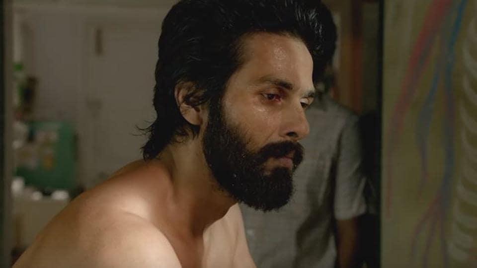 Shahid Kapoor in a still from the Kabir Singh trailer.