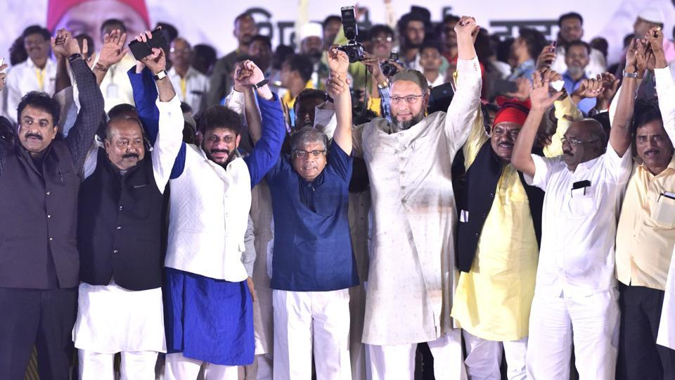The VBA was registered with the Election Commission of India only this year and has fielded candidates in 47 out of 48 Lok Sabha seats in Maharashtra, leaving one seat to its alliance partner, AIMIM