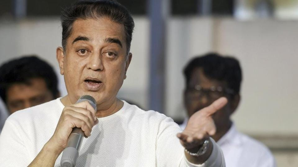 "Makkal Needhi Maiyam (MNM) founder Kamal Haasan has stoked a possible controversy, saying free India's first ""terrorist was a Hindu,"" referring to Nathuram Godse who killed Mahatma Gandhi."