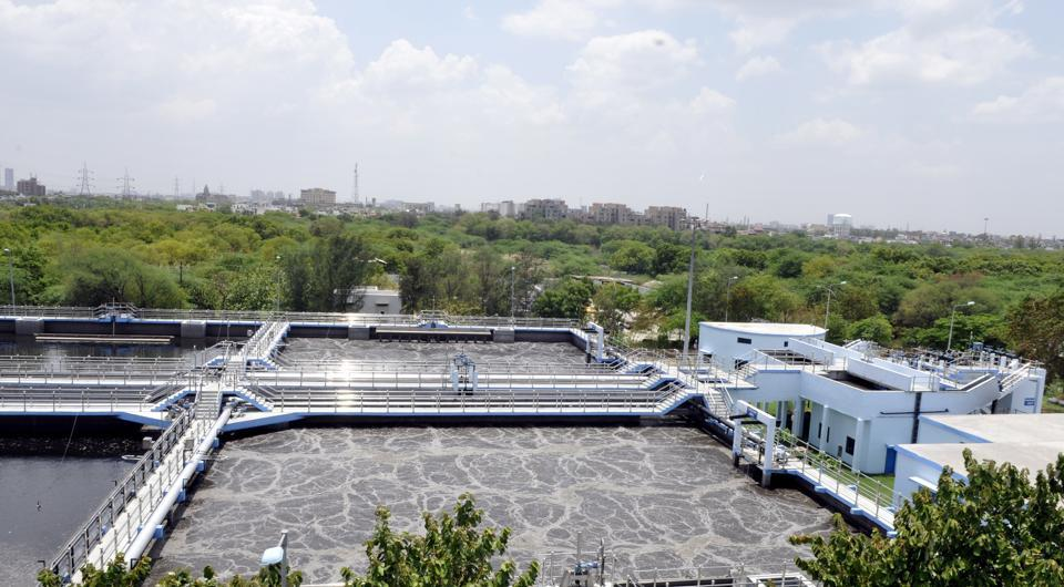 The Noida  authority is already reusing treated water from five STPS.