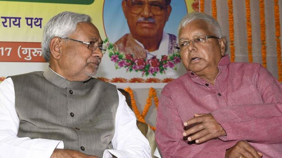 RJD chief Lalu Prasad Yadav on Monday targeted Bihar chief minister Nitish Kumar over JD (U)'s election symbol, saying that 'arrow' marks violence while RJD symbol 'lalten' (lantern) lights up everyone's life.