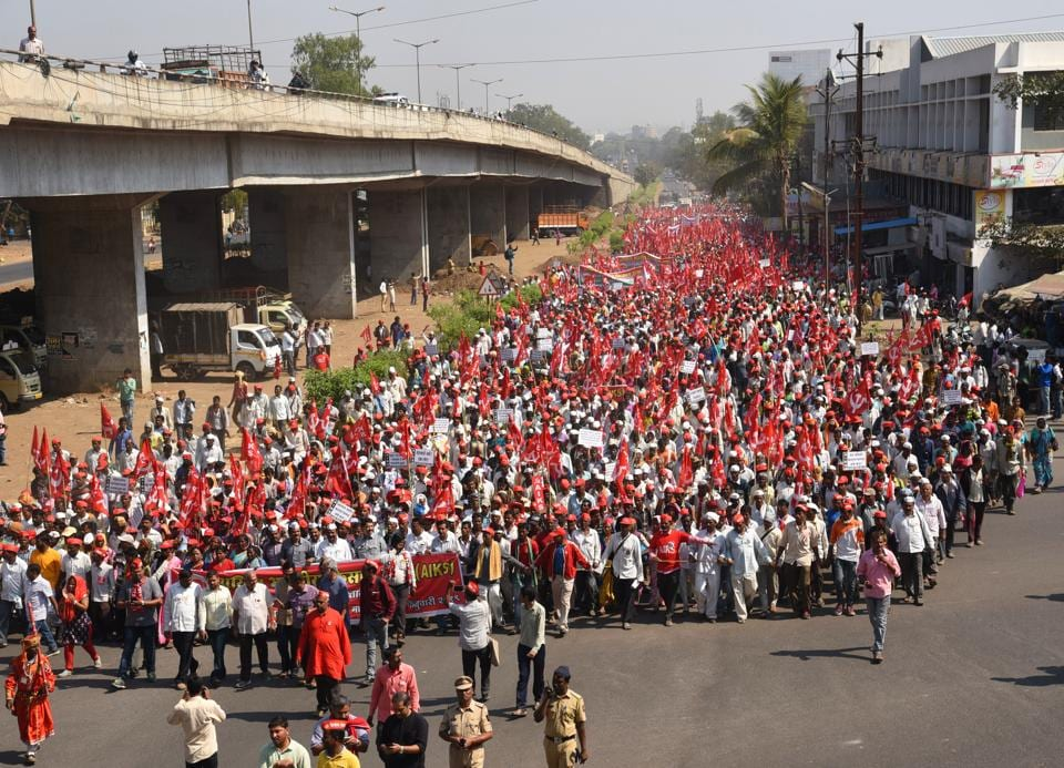 Agrarian distress has been one of the major issues raised by the opposition in the run up to the 2019 Lok Sabha Elections