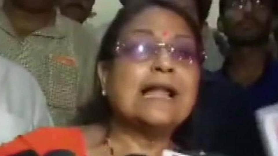 TMC candidate from Barasat, Kakoli Ghosh Dastidar