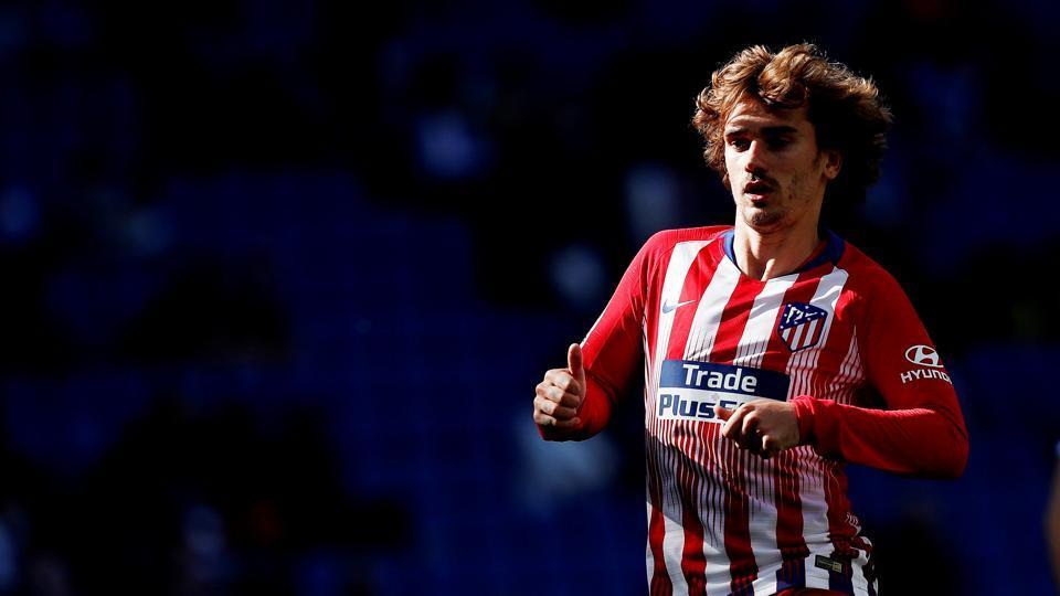 Atletico Madrid's Antoine Griezmann