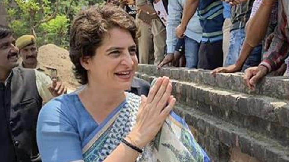 Priyanka Gandhi was expected to arrive at 12 pm. However, later the Congress leaders informed about cancellation of her visit.