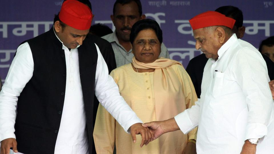 Mulayam won from Mainpuri by 364,000 votes. From his second seat of Azamgarh, Mulayam's margin was much lower: 62,304. In Modi's second seat, Vadodara in Gujarat, the margin of victory was 570,000.