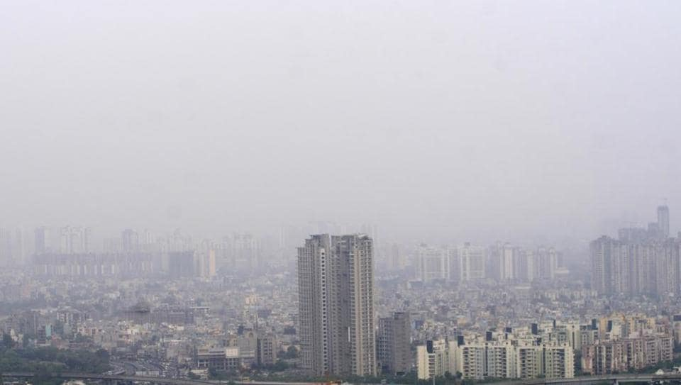 ghaziabad,noida,air pollution