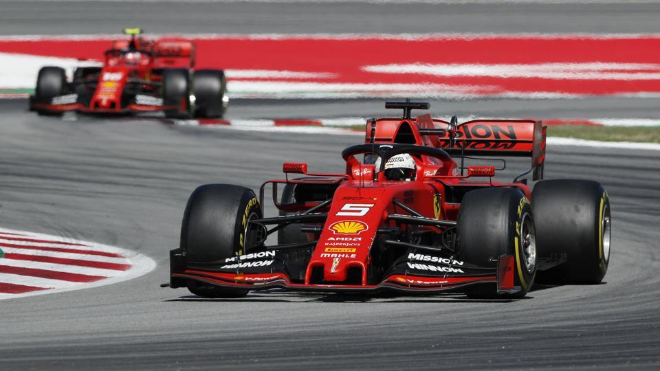 Sebastian Vettel,Ferrari'