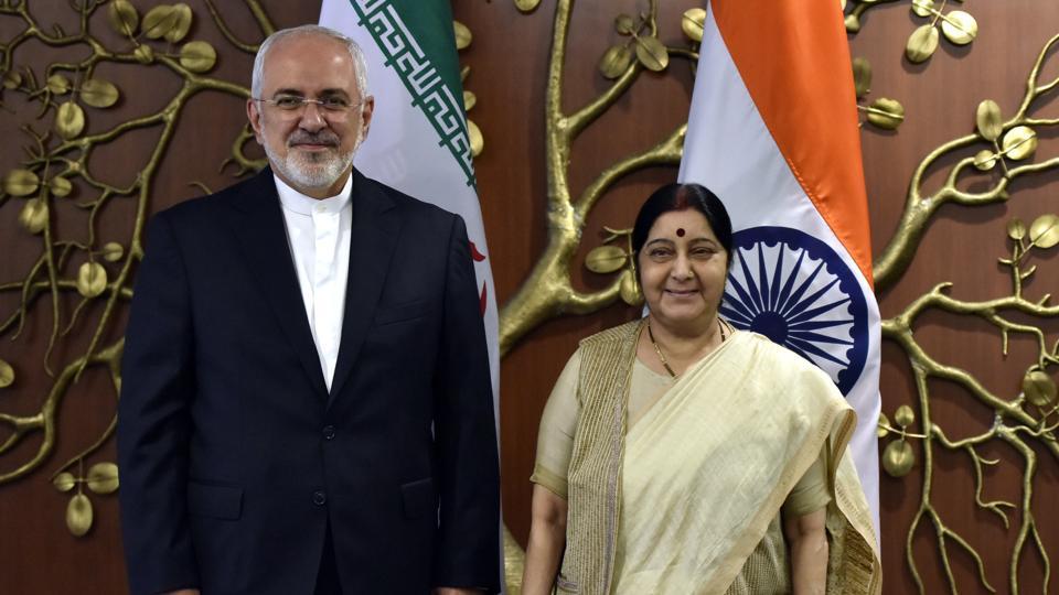 sushma swaraj,MEA,US-Iran tensions