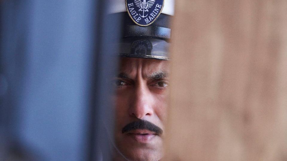 Salman Khan in a still from Bharat.