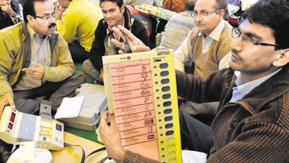 This exercise is conducted to show that the EVMs were functioning properly.