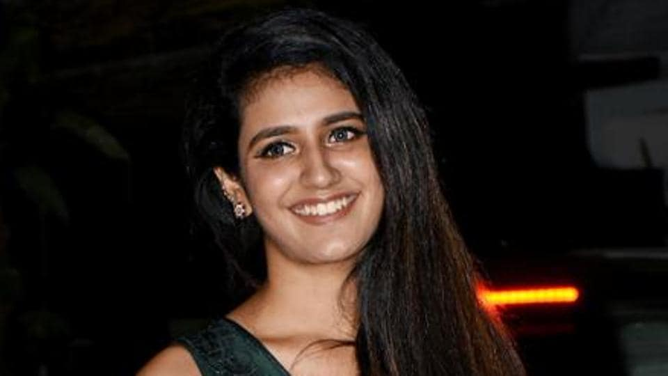 Priya Prakash Varrier is currently busy with her third film Love Hackers.