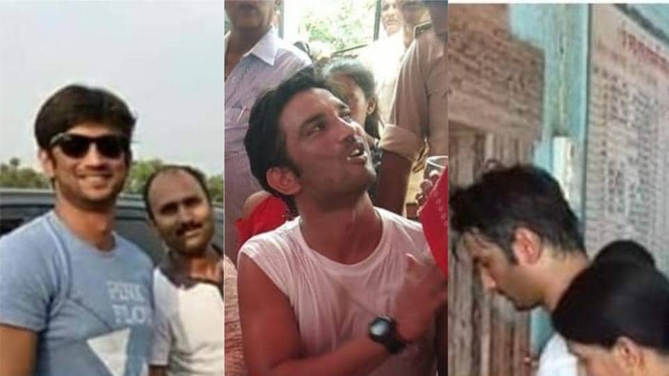 Sushant Singh Rajput visited Bihar after 17 years.
