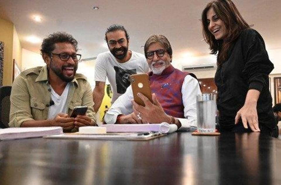 Amitabh Bachchan shared a picture with Shoojit Sircar announcing he will be working with the filmmaker soon.